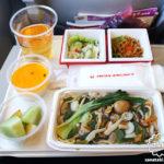 台湾|台北 帰国日 JALの機内食など