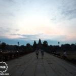 カンボジア|シェムリアップ アンコールワット朝日鑑賞に行ってみる【チケットオフィスで遺跡パス購入】
