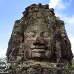 カンボジア|シェムリアップ 【遺跡見学】四面仏で有名なアンコールトム遺跡(バイヨン寺院)へ